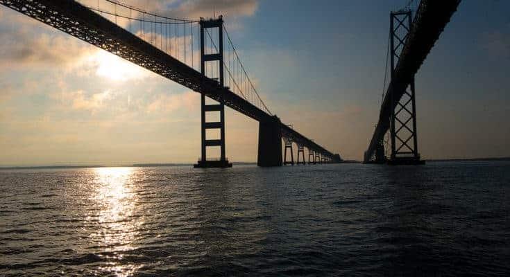 Buy expensive dslr camera Chesapeake Bay Bridge Maryland