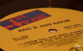 hip-hop music Rakim