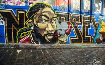 Nipsey Hussle Street Art Melbourne Hosier Lane