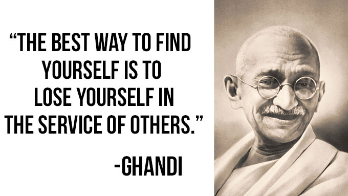 Ghandi Inspirational Quotes About life