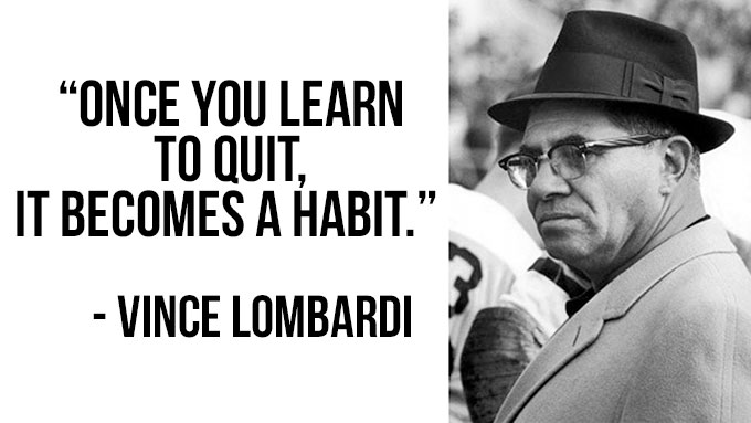 Vince Lombardi motivational quotes