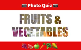 photo quiz fruits and vegetables
